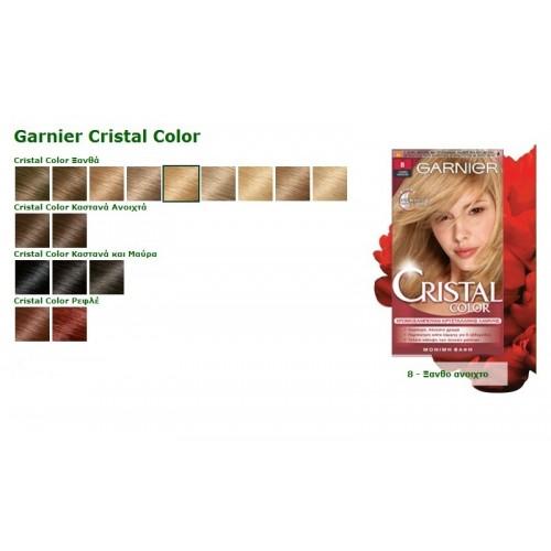 Garnier Cristal Color Μόνιμη Βαφή Ξανθό Ανοιχτό Νο.8 2263ffd17a6